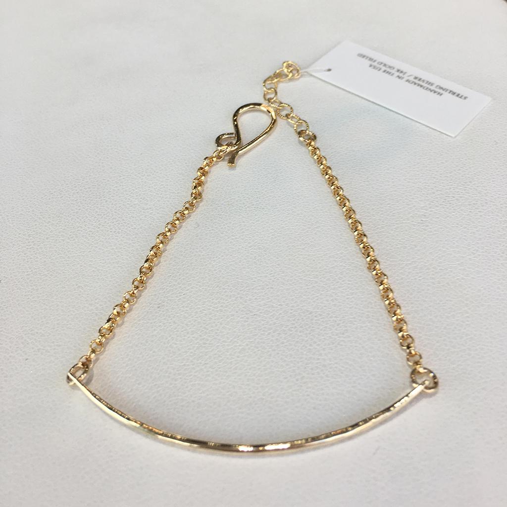 Ruby Lena Bar Bracelet