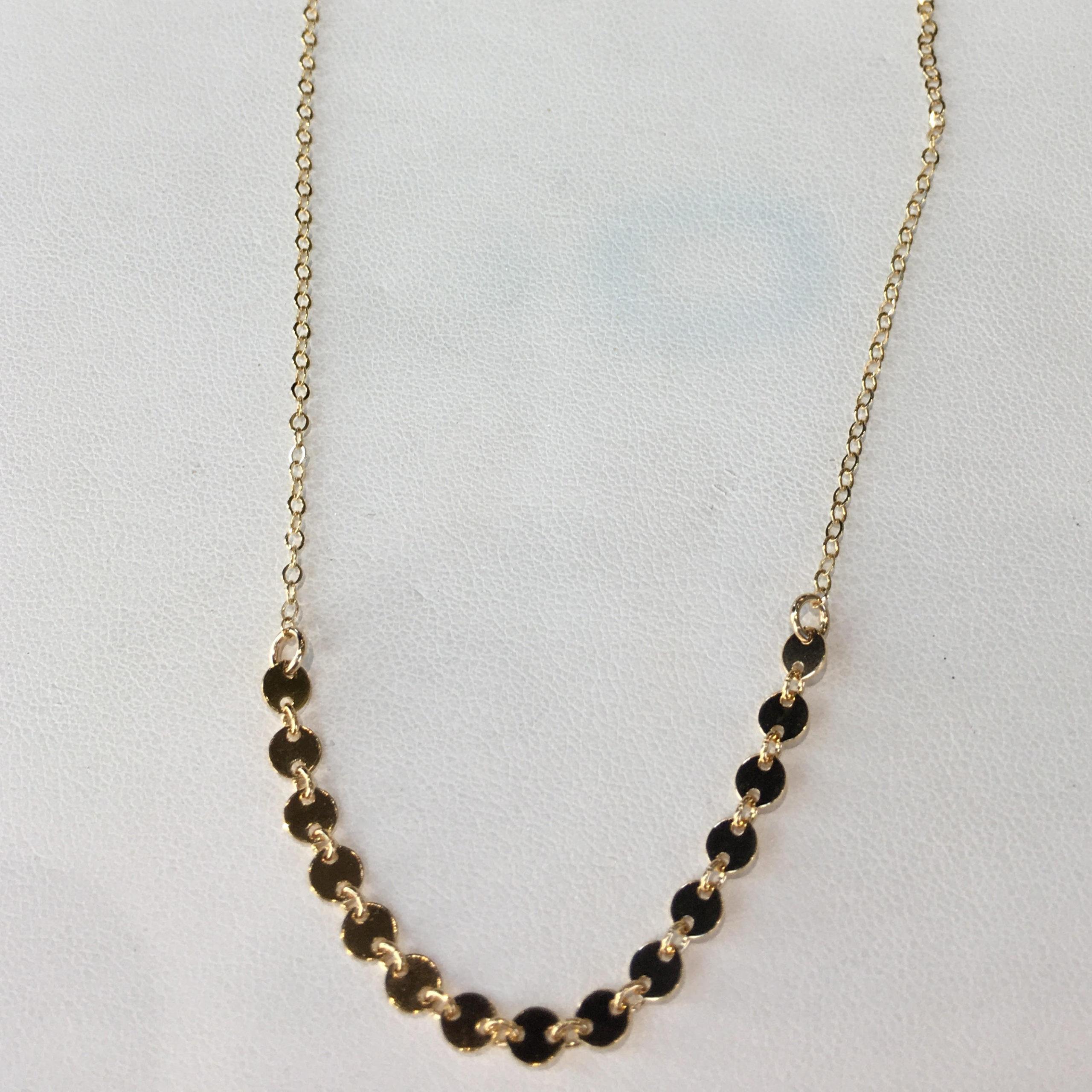 Ruby Lena Dot Necklace