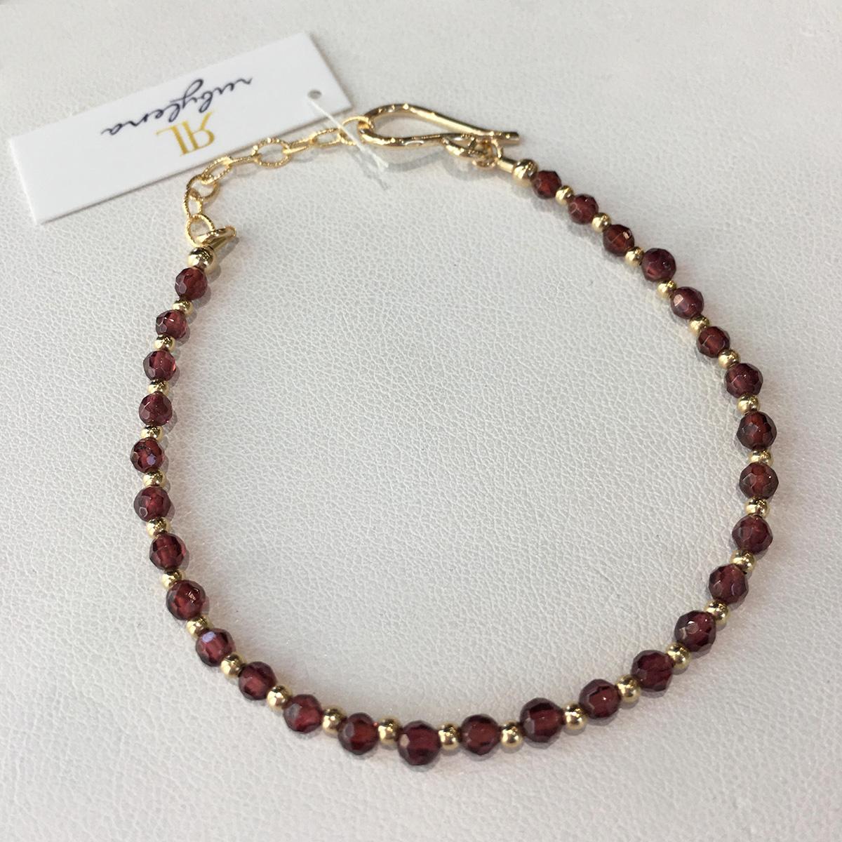 Ruby Lena Gemstone Bracelet