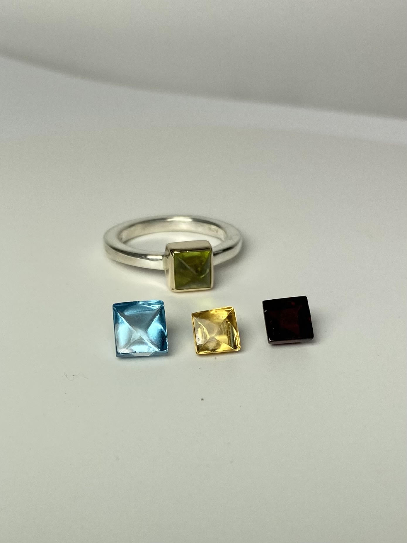 Colorful Cabochon Ring